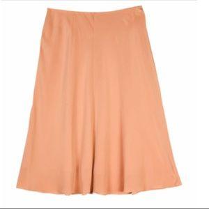 Eileen Fisher Woman Silk Crepe Skirt